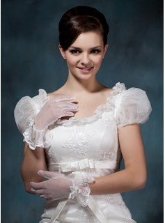 Voile Wrist Length Party/Fashion Gloves