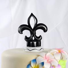 Fleur-de-luce Résine Mariage Décoration pour gâteaux