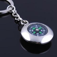 Individualisiert Kompass Zink-Legierung Schlüsselanhänger