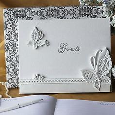 Schmetterlings-Entwurf Strasssteine Gästebuch