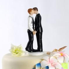 Même sexe Résine Mariage Décoration pour gâteaux