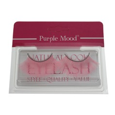 1 Pair Pink Shimmer Cannetille Style False Eyelashes CFE459