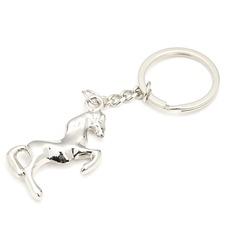 Pferde entwurf Edelstahl Schlüsselanhänger